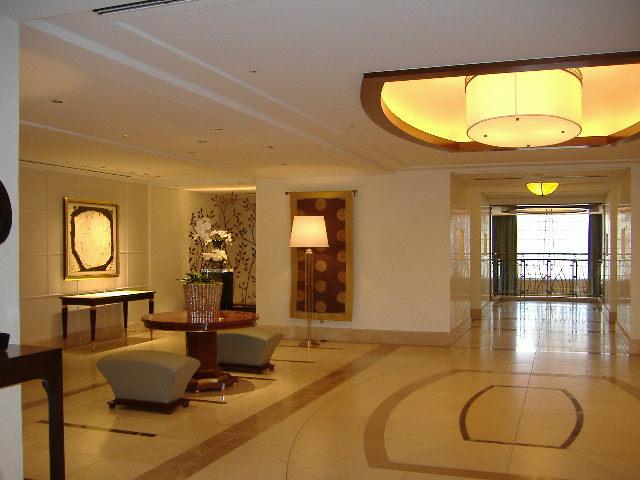 Architecture intérieure et décoration d'un Hotel