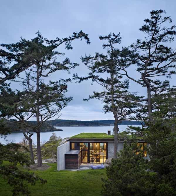 architecture maison concept ecologique. Maison pierre