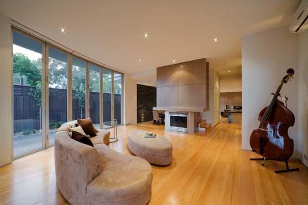 architecture intérieure - le salon