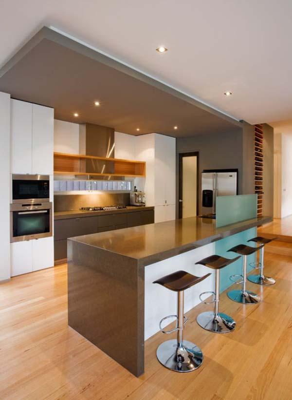 architecture et décoration de la cuisine
