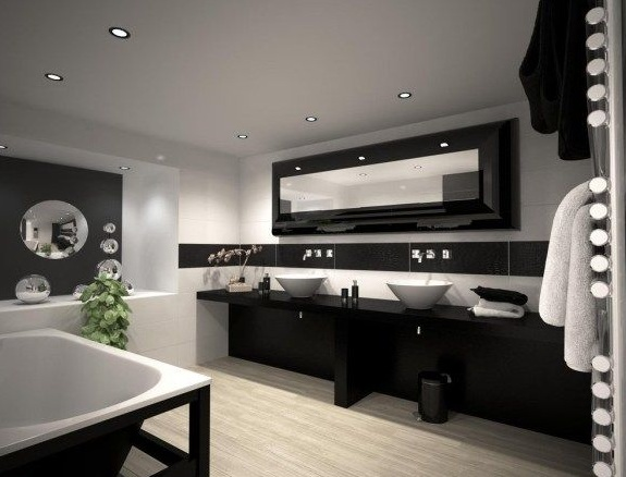salle de bain design zen contemporaine modern conseil. Black Bedroom Furniture Sets. Home Design Ideas
