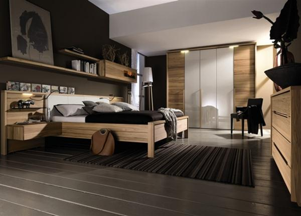 d 233 coration chambre mobilier hulsta architecte int 233 rieur 18961 | elegant contemporary natural bedroom interior design